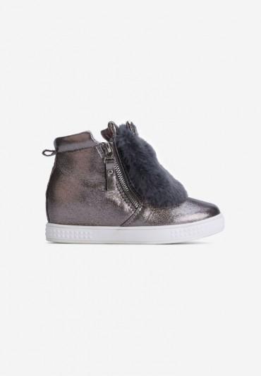 Sneakersy szaro brązowe  Lavigne