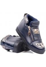 Botki-sneakersy granatowe 4 Timofey