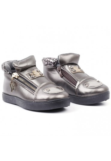 Botki-sneakersy brązowe 3 Timofey