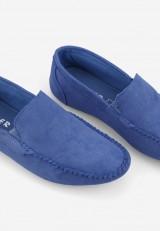 Mokasyny niebieskie 12 Roussel
