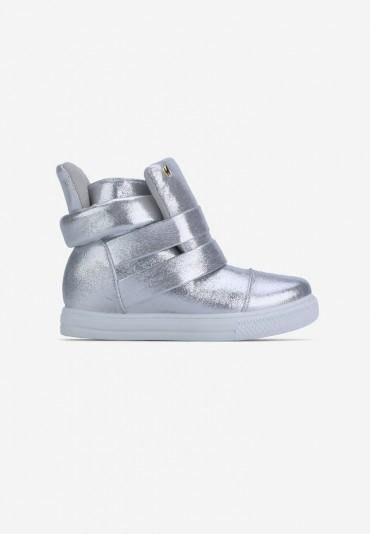 Sneakersy srebrne 3 Danette