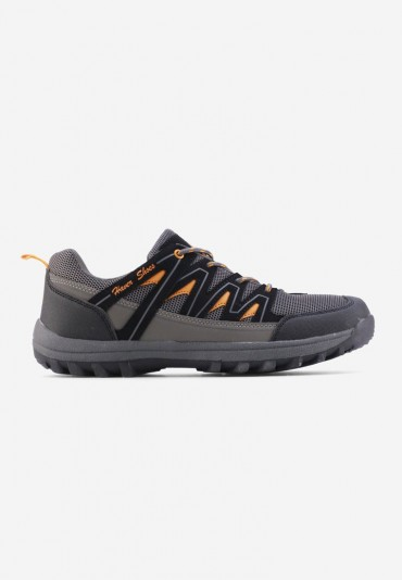 Buty sportowe szaro pomarańczowe 1 Willelm