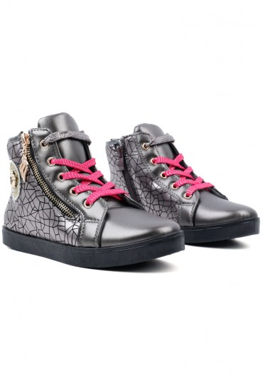 Botki-sneakersy ciemno szare 7 Evgeniya