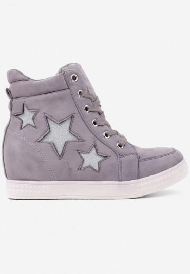 Sneakersy botki szare 3 Matryosha