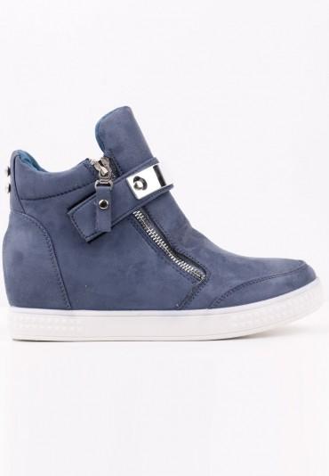 Sneakersy botki granatowe 15 Akilina