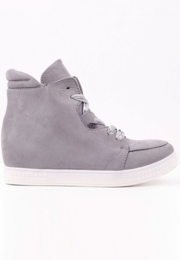 Sneakersy botki szare 3 Savin