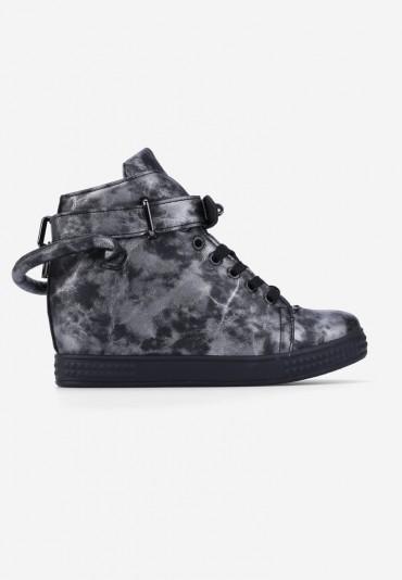 Sneakersy czarne Morel