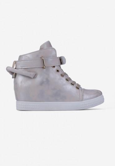 Sneakersy beżowe Morel