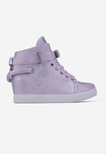 Sneakersy różowe Morel