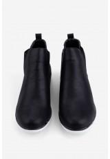 Sneakersy czarno białe Lane