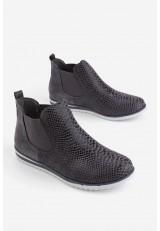 Sneakersy ciemno szare Lane