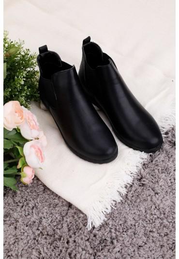 Sneakersy czarne Lane