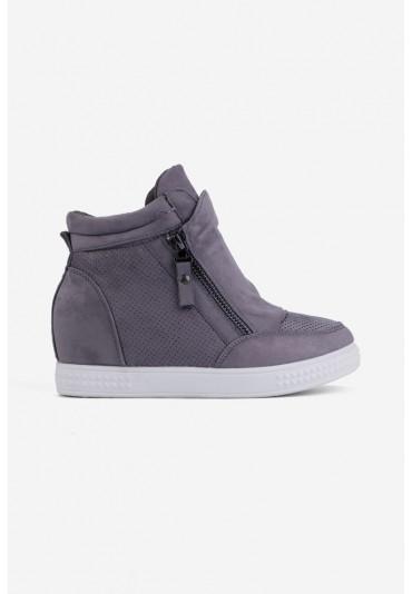 Sneakersy szare 3 Charron