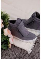 Sneakersy szare Charron