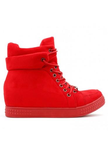 Sneakersy czerwone 8 Bailon