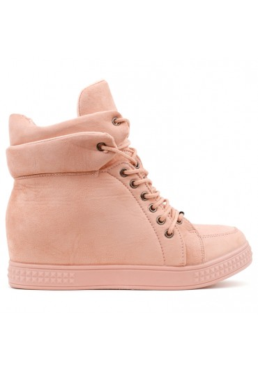 Sneakersy różowe 7 Bailon