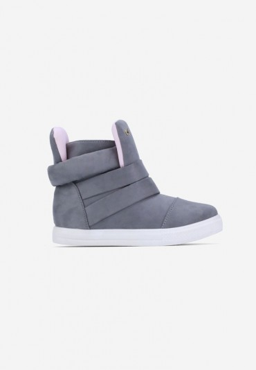 Sneakersy jasno szare Laurent
