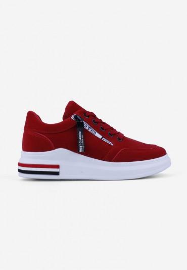 Sneakersy czerwone17 Emmy
