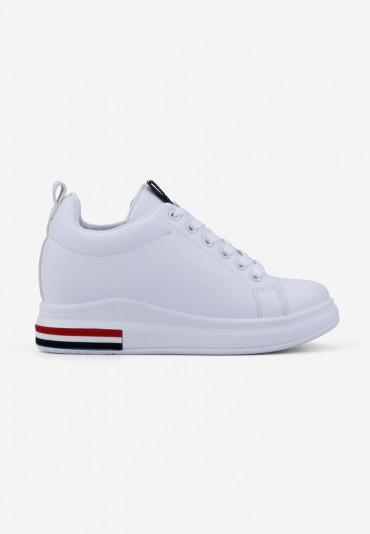 Sneakersy białe 1 Travert