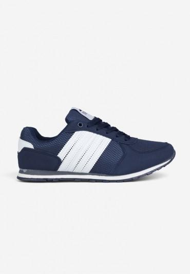 Buty sportowe granatowo-białe Tano