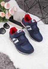 Buty sportowe granatowo-czerwone 2 Aurore