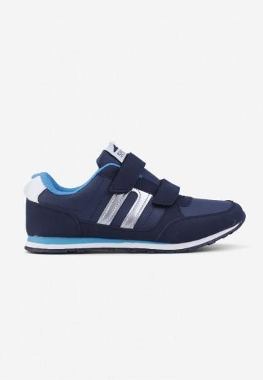 Buty sportowe granatowe z niebieskim Aurore