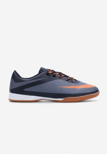 Buty sportowe czarne z pomarańczowym  Royer