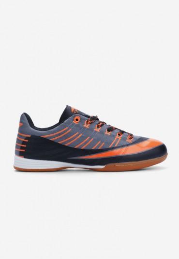 Buty sportowe szare z pomarańczem Gaëlle