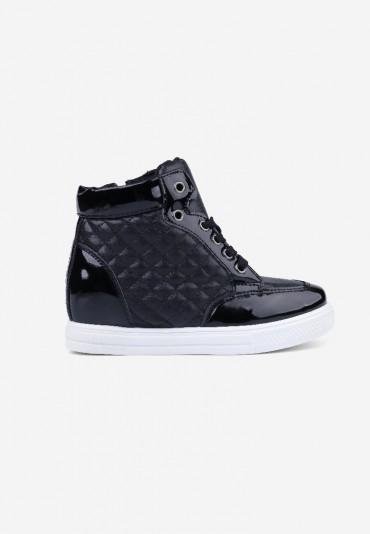 Sneakersy czarne z białym 1  Parris