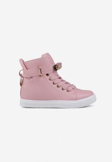 Sneakersy jasno różowe 3 Narcisse