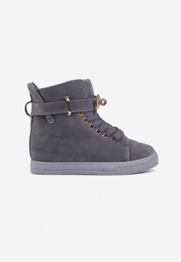 Sneakersy ciemno szare 7 Narcisse