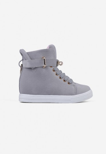 Sneakersy jasno szare 6 Narcisse