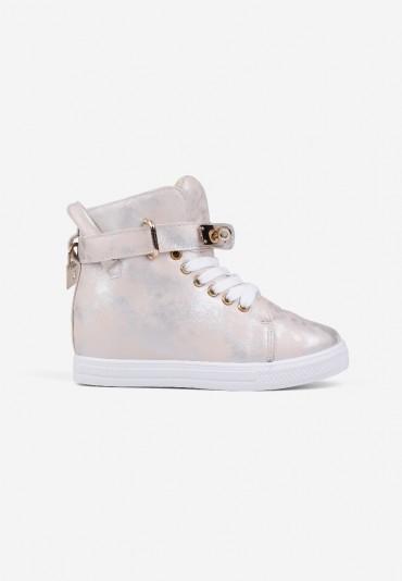 Sneakersy beżowe 10 Narcisse