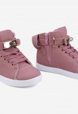 Sneakersy różowe 4 Jules