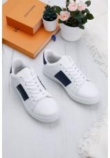 Buty sportowe5  biało-granatowe Canali