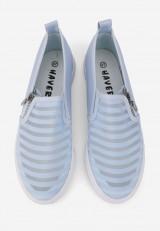 Tenisówki niebieskie Lia