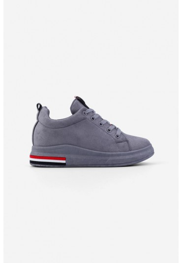 Sneakersy ciemno szare-5 Capone