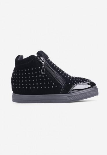 Sneakersy czarne-1 Peraza