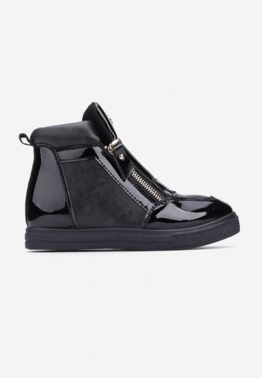 Sneakersy czarne-4 Doncia