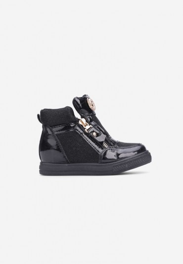Sneakersy czarne-2 Virginie