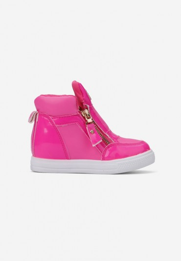 Sneakersy różowe-4 Virginie