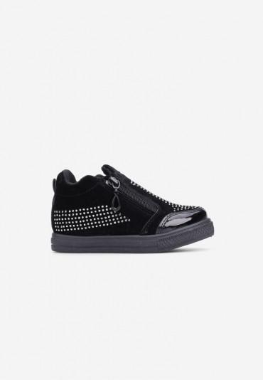 Sneakersy czarne-1 Marie