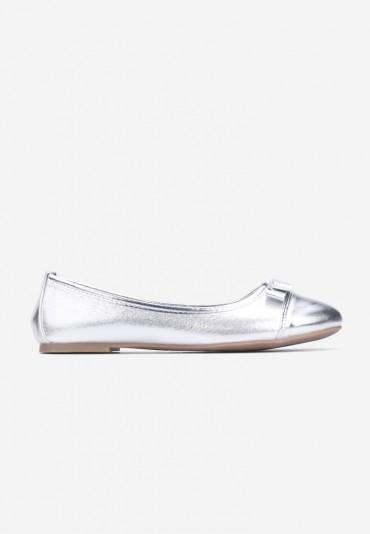 Balerinki srebrne-3 Rosiello