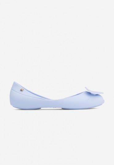 Balerinki niebieskie 20 Tinoco