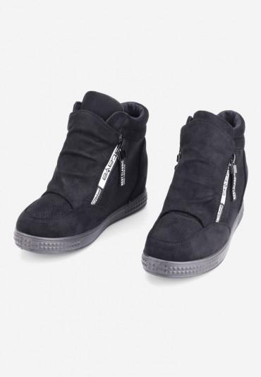 Sneakersy czarne 8 Alone
