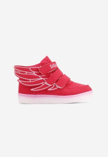 Buty sportowe czerwone 9 Rosaria