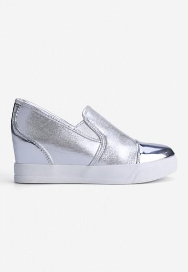Sneakersy srebrne 3 Tristan