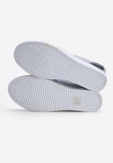 Sneakersy na koturnie srebrne 3 Tristan