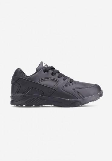 Buty sportowe czarne matowe 6 Piero