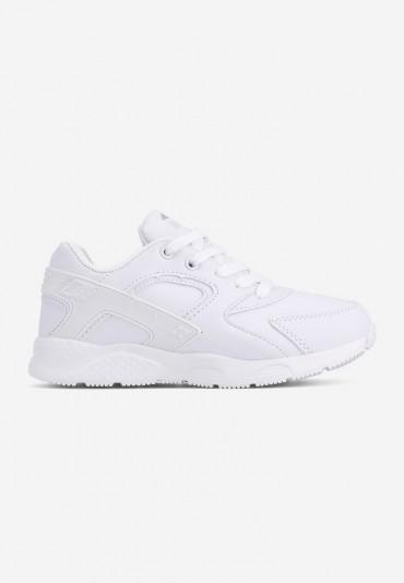 Buty sportowe białe matowe 7 Piero
